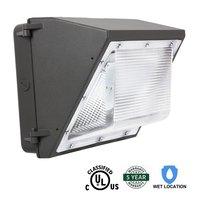 T-SUNRISE LED 60 W Mur Pack Luminaire Extérieur Lumière HPS/HID Remplacement 5000 K Blanc Froid IP65 Étanche 5700 Lumens Ul