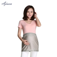 Recommend electromagnetic radiation protective pregnant women nursing wear EMF shielding 100% silver fiber apron adjustable anti radiation apron electromagnetic radiation proof electrical appliances computer protective clothin