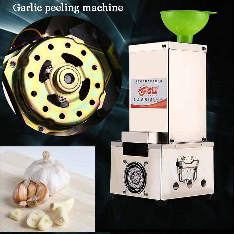 Electric Stainless steel household garlic peeling machine Garlic skin separator TJ-02 22kg h capacity electric garlic peeler automatic garlic peeling machines garlic processing machine