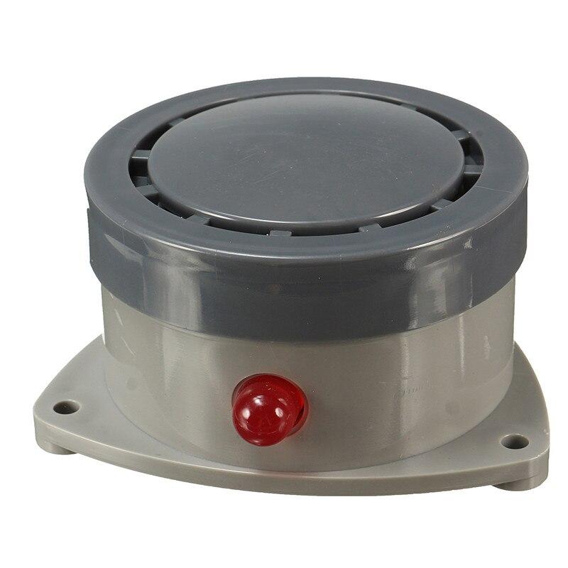 ABS Kunststoff Wasserlecksucher Wasser Sensor Leck Alarm mit Vorsicht Licht Home Security Langlebige Qualität