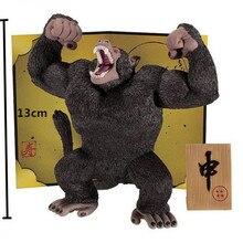 Аниме Dragon Ball Z Banpresto Кинг-Конг Сын Gokou ПВХ Фигурку Коллекционная Модель Игрушки 14 см KT1879