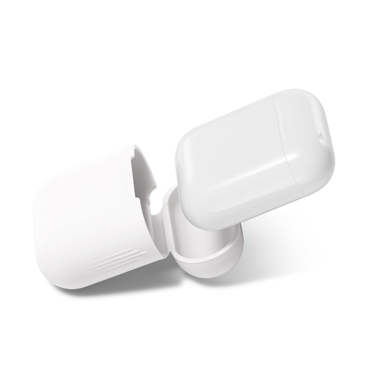 Image 4 - Bluetooth Wireless Case for Airpods dust guard headhone case airpod Accessories off white case for airpods pouch holder silicone-in Earphone Accessories from Consumer Electronics