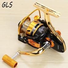 All metal making rotary reel Seamless fishing wheel 3000-7000 13BB 5.2: 1 Rotating boat Fishing reel
