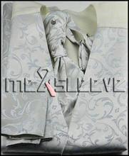 party dress floral waistcoat/ wedding man's vest 4pcs solid colour (waistcoat+ascot tie+cufflinks+handkerchief)
