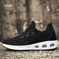 Men Lace Up Running Shoes Outdoor Running Shoes New Men Sneakers Man Genuine Outdoor Sports Flat