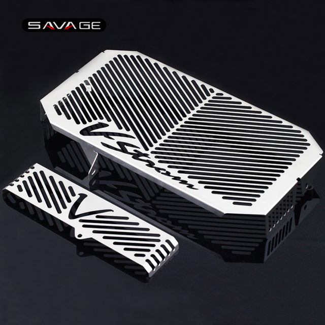 Radiator Grille Guard Cover Cap Protector For SUZUKI DL650 DL 650 V Strom VStrom 2004 2010 09 Oil Cooler Protection Covers Caps