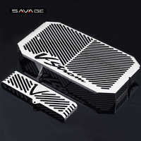 Radiator Grille Guard Cover Protector For SUZUKI DL650 DL 650 V-Strom VStrom 2004-2010 05 06 07 08 09 10 Oil Cooler Protection