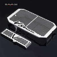 Radiator Grille Guard Cover Protector For SUZUKI DL650 DL 650 V-Strom VStrom 2004-2010 05 06 07 08 09 10 Oil Cooler Protection