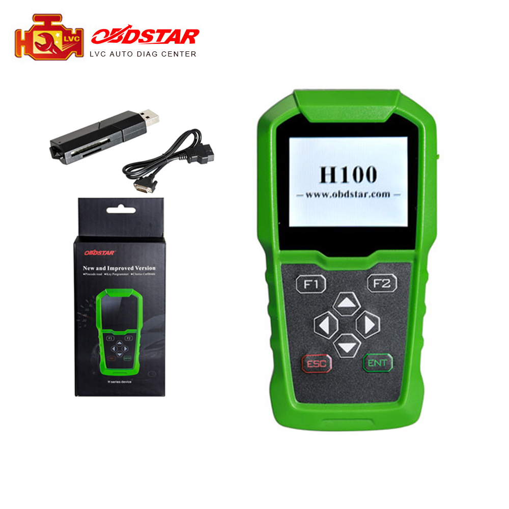OBDSTAR H100 For Ford for Mazda Auto Key Programmer Support 2017 2018 Models like F150 F250