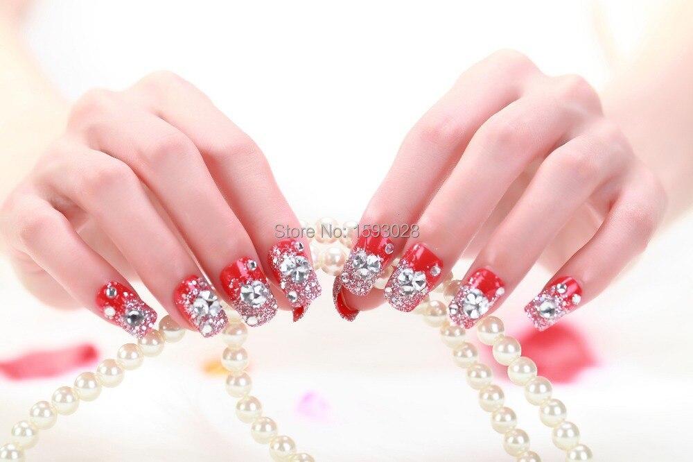 2015 hot sales False Art nail art Design Tips French ...