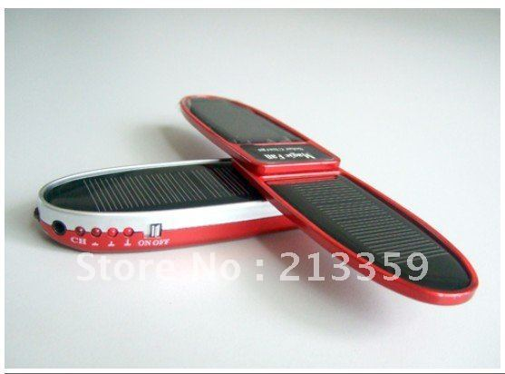 Free shipping for clover shaped solar mobile charger 1000mah hot!