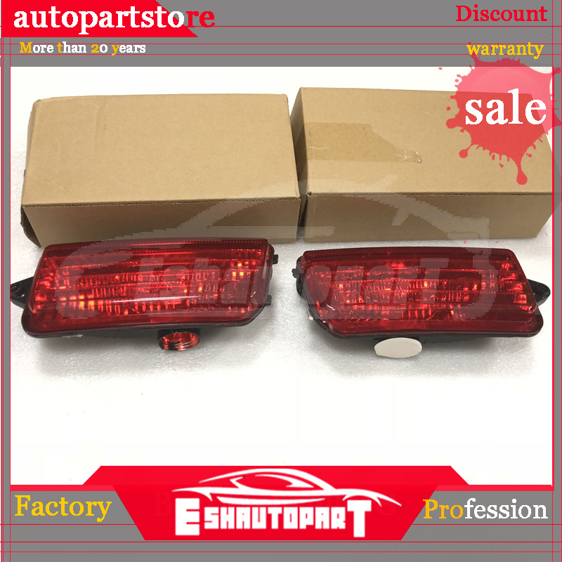 For JEEP Grand Cherokee 2006 2010 Reflector Housing Lamp Tail Bumper Fog Lights