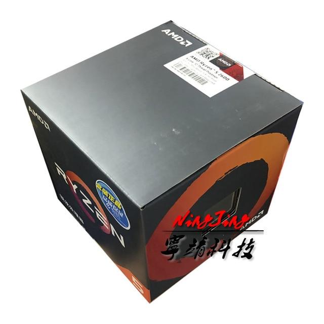 AMD Ryzen 5 2600 R5 2600 ГГц шесть двенадцать нить Процессор процессор YD2600BBM6IAF разъем AM4
