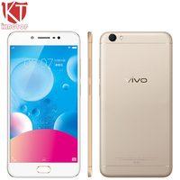 Originele VIVO Y67 4G LTE Mobiele Telefoon 4 GB RAM 32 GB ROM MTK6750 Ocat Core 5.5 inch Android 6.0 16 + 13MP Camera HIFI Smart telefoon