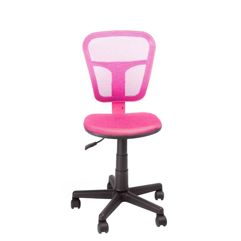 Cute Swivel Chair Us Shipping 2015 Girl S Lovely Office Chair Ergonomic Height Adjustment Swivel Cute Pink Bedroom Computer Chair Hanyicnc Jj037 In Office Chairs From