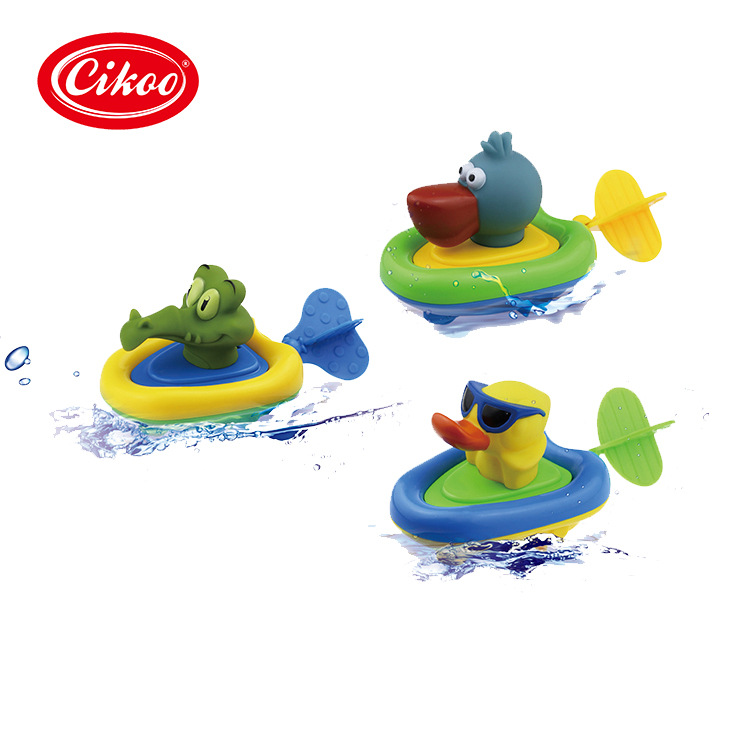beb nios nias precioso pingino animales juego de cadena de traccin de agua barcos de juguete para nios beb juguetes de ba