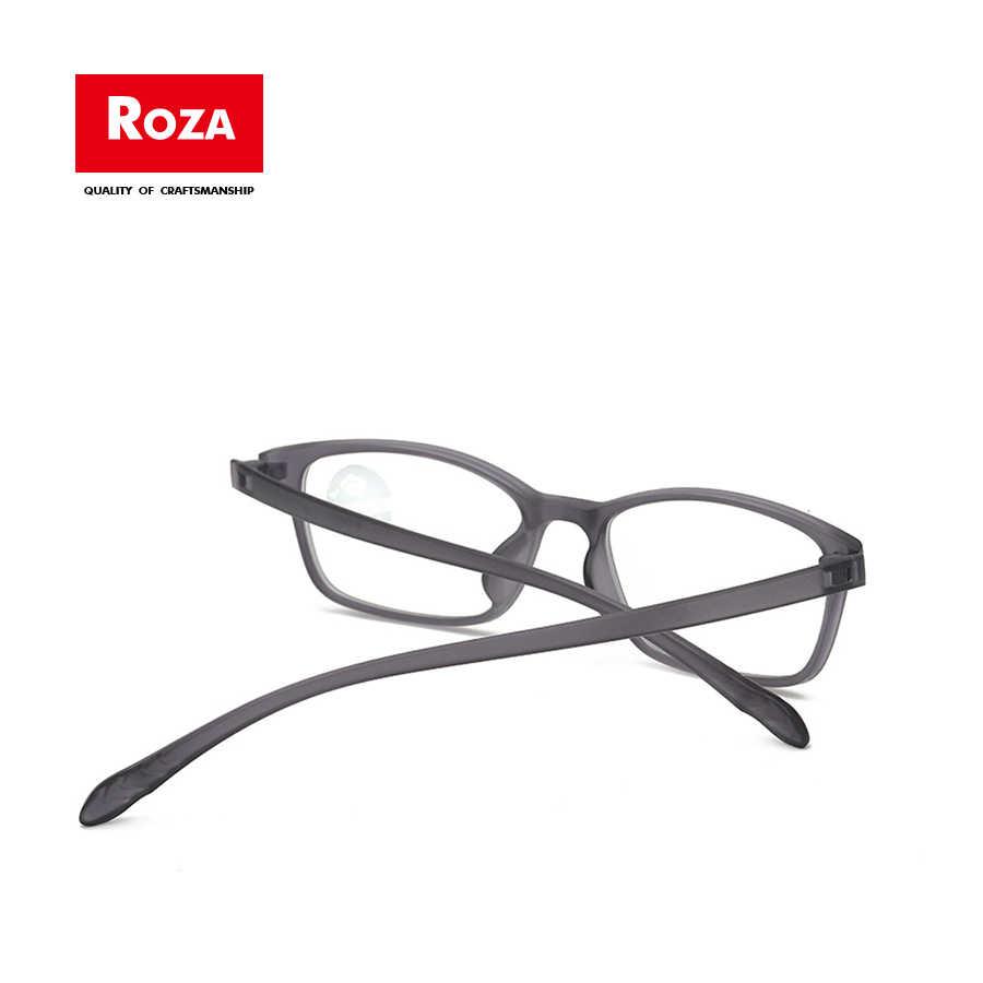 Roza Glasses Lightweight Tr90 Blue Light Blocking Eyewear Comfortable Students Eyeglasses For Computer Use Anti Eyestrain Rz0722 Aliexpress