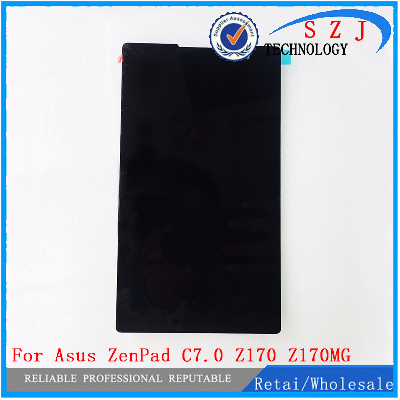 New 7'' inch case For Asus ZenPad C7.0 Z170 Z170MG Z170CG Tablet Touch screen Digitizer Glass+LCD Display Assembly Free shipping new lcd display digitizer screen replacment for motorola moto z play droid xt1635 free shipping