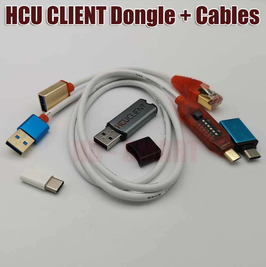 New Version HCU DC Phoenix Dongle Multi functional boot all in one cable