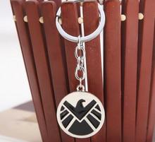 Avengers Aegis Board Logo Keychain Marvel Pendant Metal Key Ring Jewelry  Key Chain Shield Key Chain Shield Badge, Key Chain