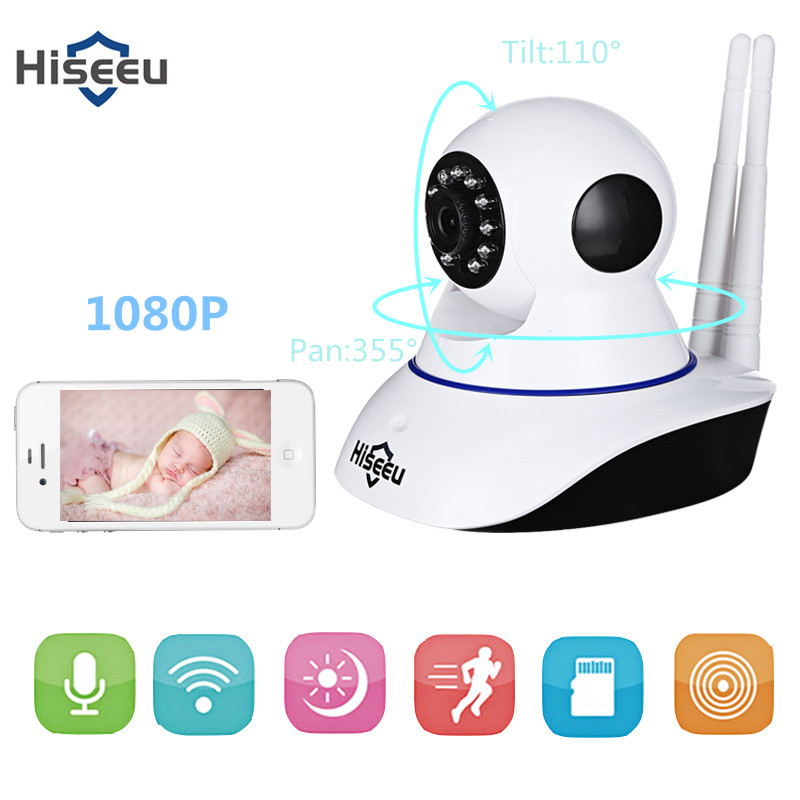 Hiseeu IP Camera CCTV Wifi security Wireless