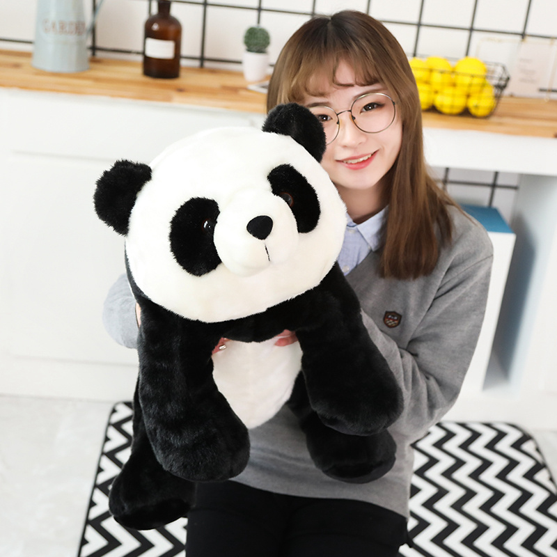 65cm Big Giant Cute Baby Panda Bear Plush Stuffed Animal Doll Animals Toy Pillow Cartoon Kawaii Dolls Girls Gifts