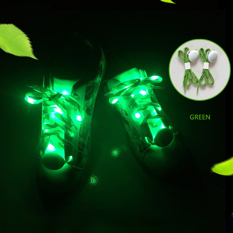 Party Skating Charming LED Flash Light Up Glow Shoelaces Shoestrings Luminous In The Dark Athletic Sport Boots Shoes Laces