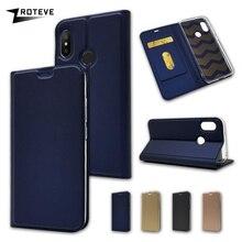 Чехол для Xiaomi Mi A2 Lite ZROTEVE из искусственной кожи Магнитная Крышка карты карман кошелек чехол для Xiaomi Mi A2 A2Lite Lite случаях принципиально