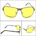 Мода Кадров Drive Поляризованные Желтые Очки Мужчины Очки Ночного Видения Солнцезащитные Очки Драйверов Для Вождения