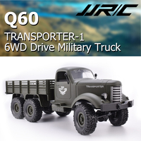 JJRC Q60 1:16 2.4G 6WD RC Off Road Machine Remote Control Drive Tracked Military RC Truck Electric Toy for Children Gift