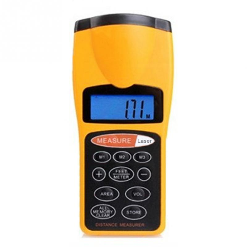 цена на CP-3007 0.05 18m Durable Ultrasonic Distance Measurer,Area Volum Meter, Laser Designator,Laser Rangefinder