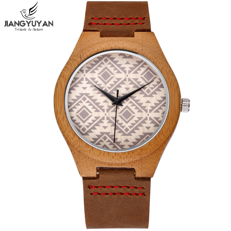 Retro Natural Handmade Bamboo font b Wooden b font font b Watches b font Men Quartz