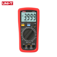 UNI T UT39A+ Digital Multimeter Auto Range Tester Upgraded from UT39A/UT39C AC DC V/A Ohm /Temp /Frequency/HFE/NCV test