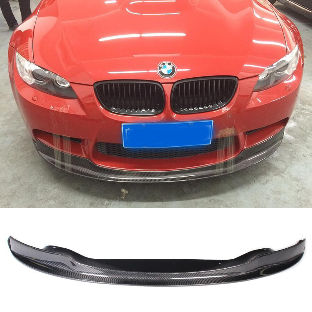 E92 M3 ARKYM Style Carbon Fiber Body Kit Front Bumper Lip for BMW E92 2006-2013 M3 Bumper Only