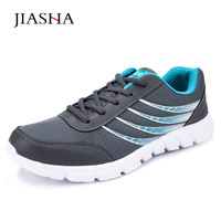 Men Shoes Lightweight Stripe Breathable Mesh Casual Shoes Adult Tenis Jogging Couples Shoes Men Plus Size