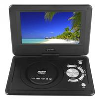 9.8 Portable Multimedia Disc DVD Player HD LCD Screen Car Antenna TV Mobile Game Disc Player with Remote Control and Gamepad