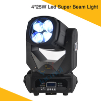 New Dj Stage Lighting 4*25W Led Beam Light ENGIN Led Moving Head Beam Light Replace 200W Sharpy Beam 5R Disco Light