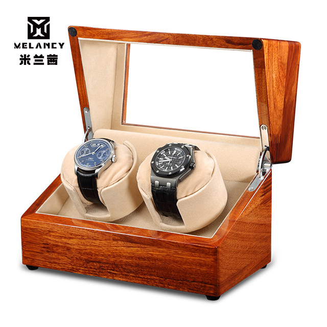 Watch Winder for automatic watches New Version Wooden Watch Accessories Box Watches Storage Luxury