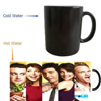 TV Show How I Met Your Mother Mugs Heat Reveal Cups Coffee Mugs Cold Hot Sensitive