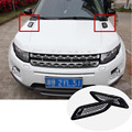 For Land Rover Discovery Sport Exterior Hood Air Vent Outlet Wing Trim 2015 2016 2pcs