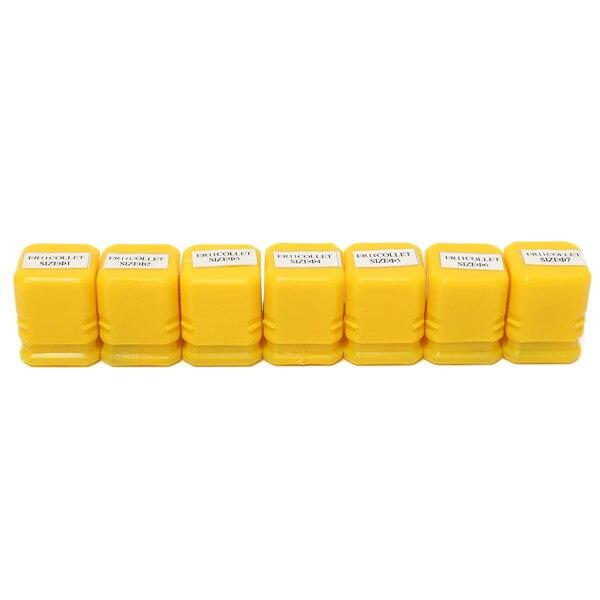 Купить с кэшбэком High Quanlity 7pcs/Set ER11 1-7mm Spring Collet Set Chuck Collet for CNC Milling Lathe Tool