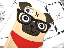Soft Funny Dog iPhone Cases