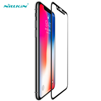 NILLKIN Ultra Thin 3D Curved Edge Tempered Glass For IPhone X Full Screen Protector 0 1MM