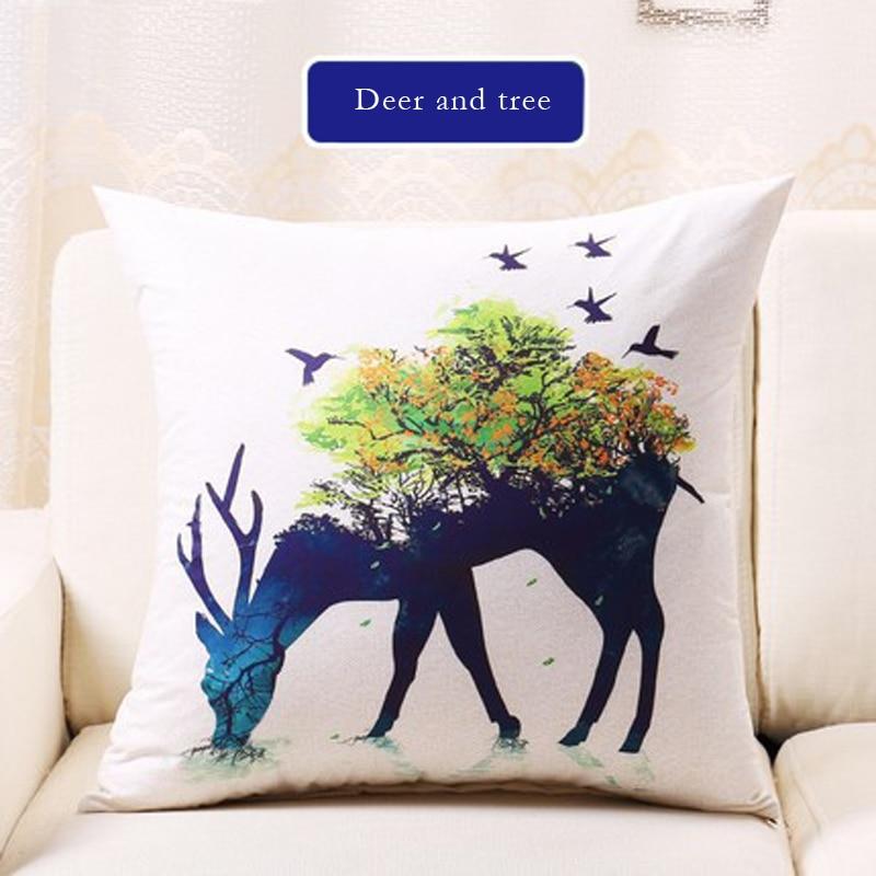 1pcs Hot Sale Pillowcase Regular 45 * 45cm Square Quality Hug Pillowcase