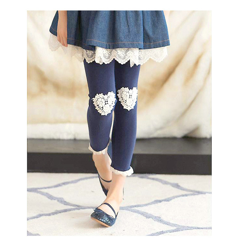 Girls Leggings Kid Toddlers Comfortable Cotton Soft Lace Butterfly Stretchy Pants Trousers for ChildrenGirls Leggings Kid Toddlers Comfortable Cotton Soft Lace Butterfly Stretchy Pants Trousers for Children