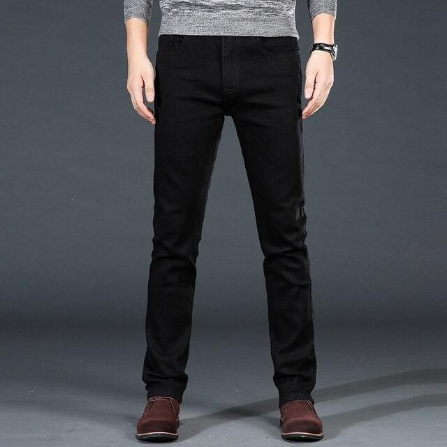 Classic Black Stretch Jeans 6