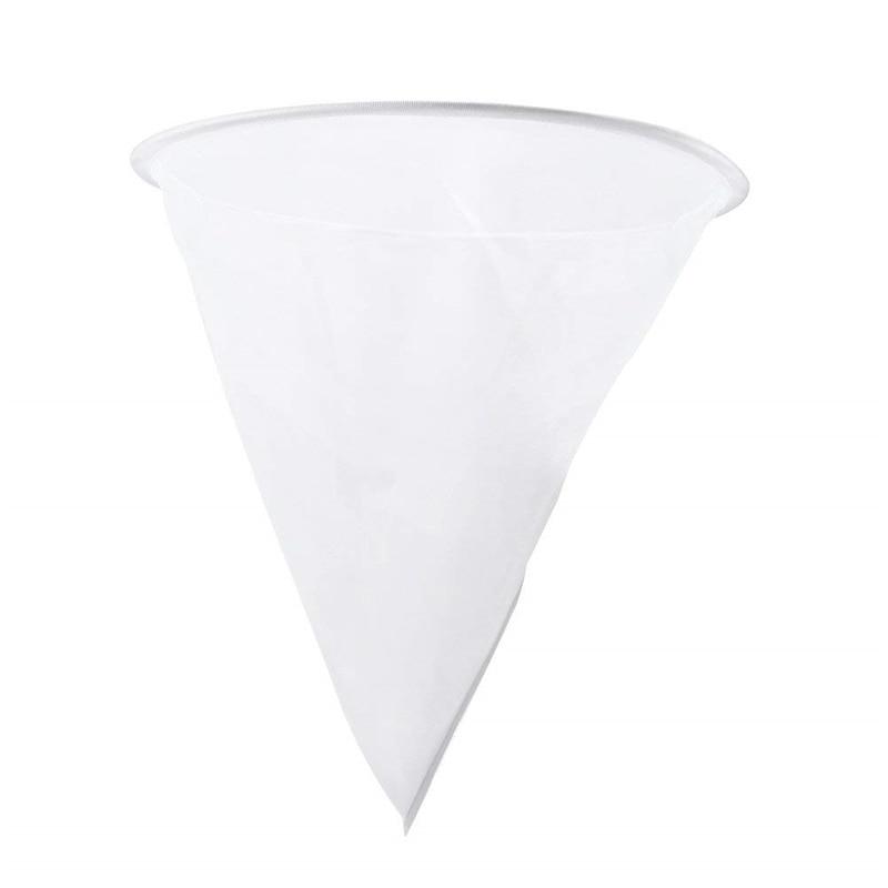 DLKKLB 1 Pièces Miel Crépine Maille En Nylon en forme de Cône Filtre Filet de Fibers Monocouche Blanc Apiculture Outils Purificateur Matériel Apicole