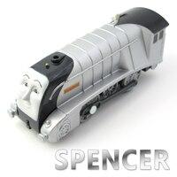 Elektrik Thomas Tren SPENCER Thomas Ve Arkadaşları Trackmaster T125E Manyetik Tomas Kamyon Lokomotif Engine Demiryolu Oyuncaklar Boys için