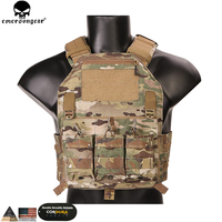 EMERSONGEAR Molle Vest 420 PLate Carrier Hunting Vest Military Paintball Tactical Molle Vest Chest Rig Multicam Tropic EMERSON