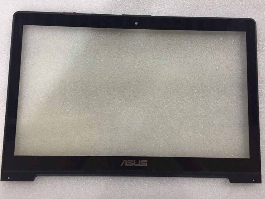 ФОТО 15.6'' Tablet Touch Panel for ASUS VivoBook S500 S550 touch screen digitizer with frame TCP15F81 V1.0 Free shipping